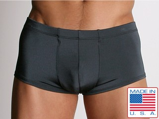 California Muscle Euro Swim Boxer Charcoal
