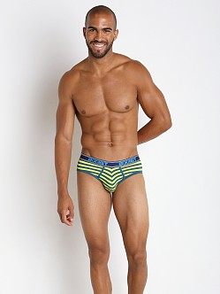 2xist Prints No Show Brief Ink Blue