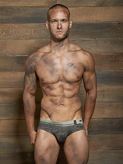 C-IN2 Filthy Lo No Show Profile Brief Army Brown