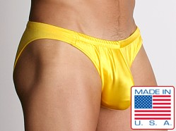 California Muscle Colt Swim Briefs Yellow