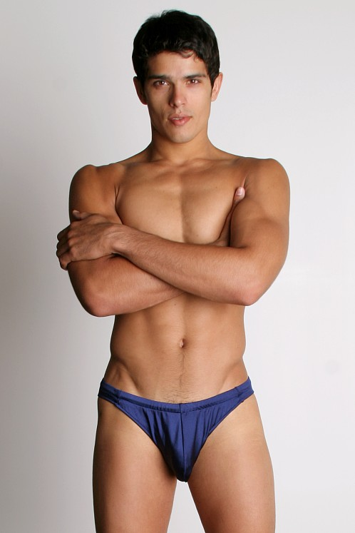 California Muscle Colt Swim Briefs Navy
