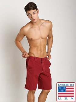 Go Softwear 100% Cotton Weekend Short Cardinal