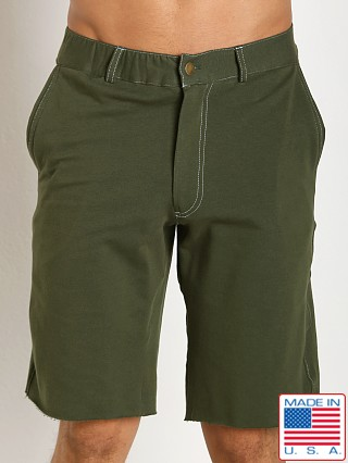 Go Softwear 100% Cotton Weekend Short Olive