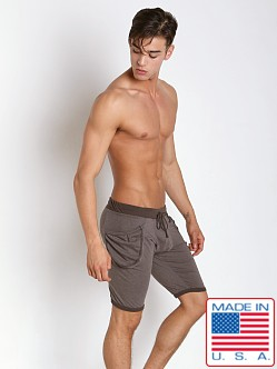 Go Softwear 100% Cotton Yoga Short Charcoal