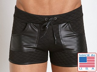 Go Softwear Hard Core Street Quilted Sport Short Black