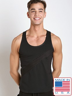 Go Softwear Hard Core Street Quilted Slash Tank Black