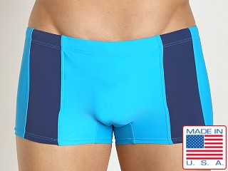 Go Softwear Viktor C-Ring Square Cut Turquoise/Deep Navy