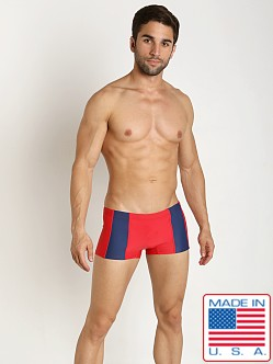 Go Softwear Viktor C-Ring Square Cut Red/Navy
