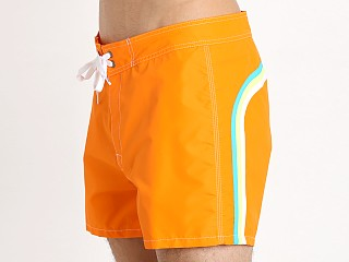 "Sundek 14"" Classic Low-Rise Boardshort Vibrant Orange"