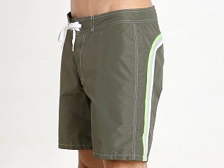 "Sundek 17"" Classic Boardshort Dark Army Green #3"