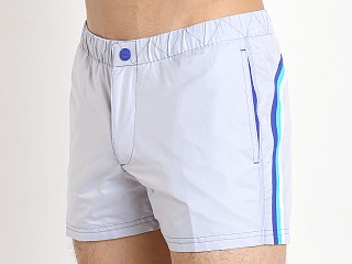 "Sundek Transparent Rip Stop 13"" Swim Trunk True Blue"