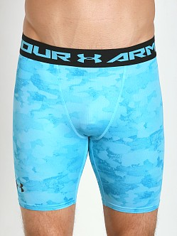 Under Armour Heatgear Armour Compression Short Island Blues
