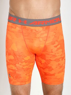 Under Armour Heatgear Armour Compression Short Bolt Orange