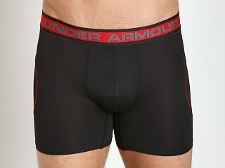 "Complete the look: Under Armour ISO-Chill 6"" Mesh Boxerjock Black"