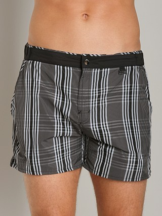 Hugo Boss Alligatorfish Swim Shorts Black