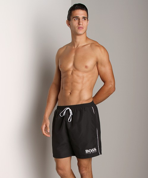 Hugo Boss Starfish Swim Shorts Black
