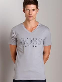 Hugo Boss V-Neck Shirt Grey