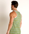 Timoteo California Cool Tank Top Green, view 4
