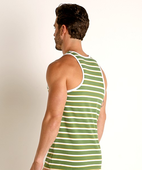 Timoteo California Cool Tank Top Green