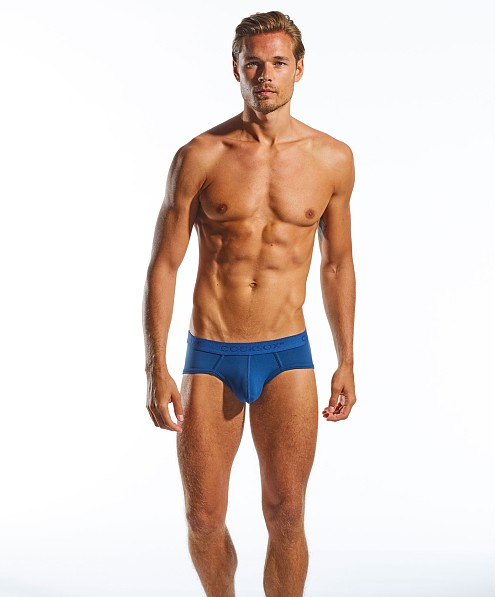 CockSox Enhancer Pouch Supplex Sports Briefs Navy