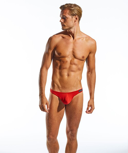 Cocksox Enhancer Supplex Thong Red