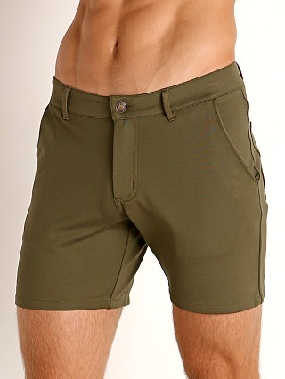 Model in army Timoteo Chelsea Short