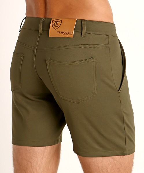 Timoteo Chelsea Short Army