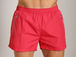 Hugo Boss Acava Swim Shorts Red