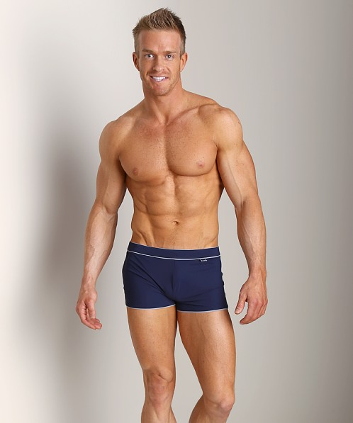 Hugo Boss Robefish Swim Trunk Navy