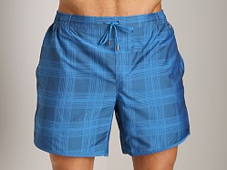 Hugo Boss Angel Shark Swim Shorts Blue