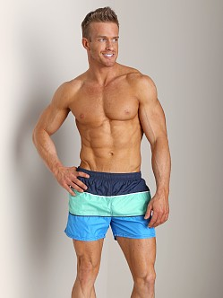 Hugo Boss Butterflyfish Swim Shorts Blue
