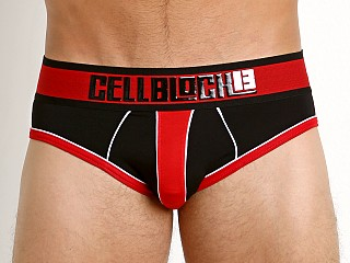 Cell Block 13 Liquid Shadow Brief Red