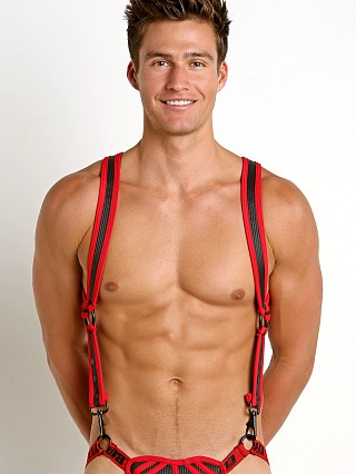 Cell Block 13 Sonic Neoprene Harness Red