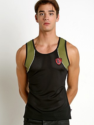 Complete the look: Cell Block 13 United Puppy Mesh Tank Army