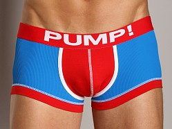 Pump! Spider Boxer Brief Royal/Red/White