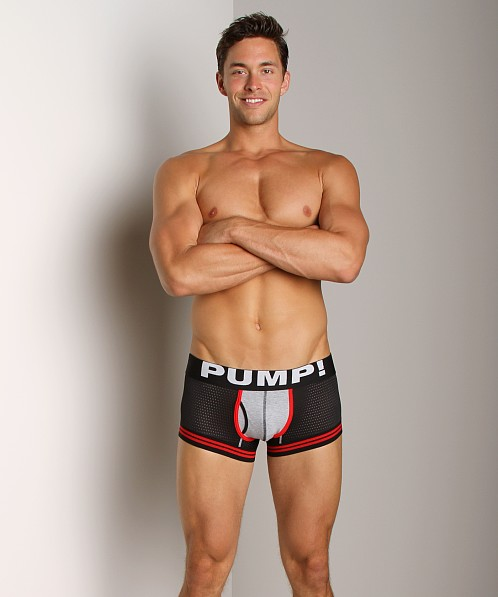 Pump! Touchdown Stretch Mesh Boxer Brief Black