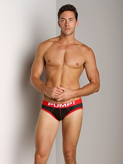 Pump! Touchdown Stretch Mesh Brief Black