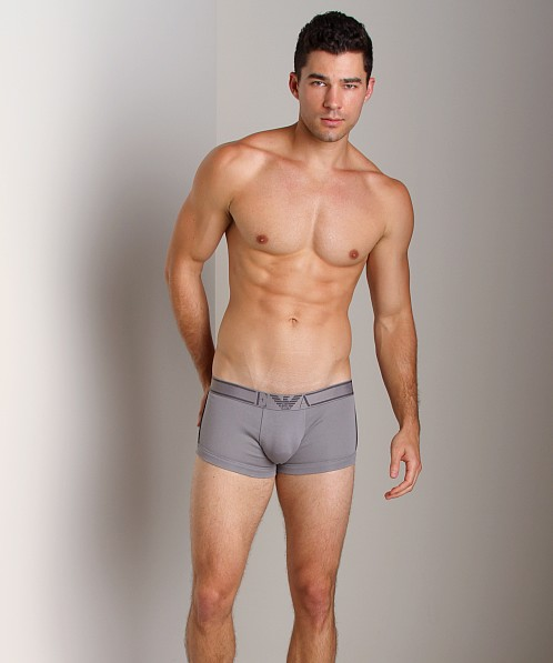Emporio Armani Pima Rib Stretch Cotton Trunk Mastic
