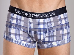 Emporio Armani Printed Fantasy Cotton Trunk Printed White