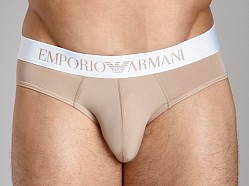 Emporio Armani Basic Stretch Microfiber Hip Brief Skin