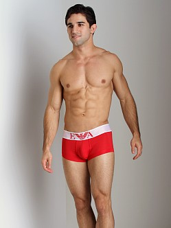 Emporio Armani Basic Stretch Microfiber Trunk Red