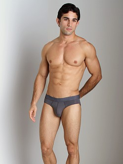 Emporio Armani Pima Jersey Stretch Cotton Brief Grey