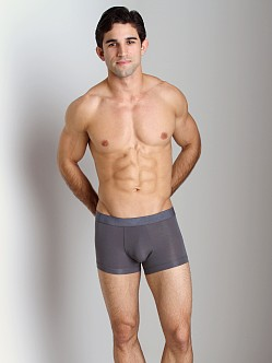 Emporio Armani Pima Jersey Stretch Cotton Trunk Grey