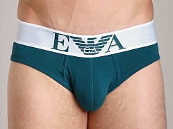 Emporio Armani Basic Stretch Cotton Brief Peacock