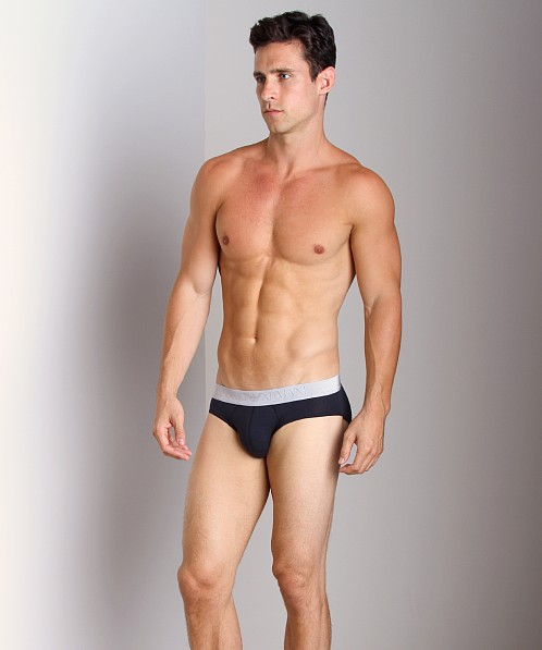 Emporio Armani Soft Cotton Brief Marine