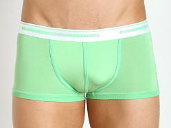 DSQUARED Micromodal Trunk Green