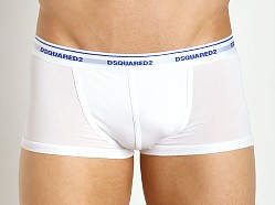DSQUARED Micromodal Trunk White