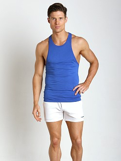 DSQUARED Micromodal Tank Top Bluette