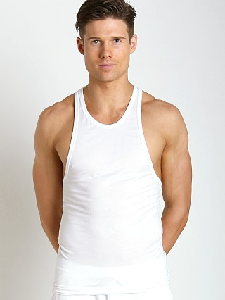 DSQUARED Micromodal Tank Top White