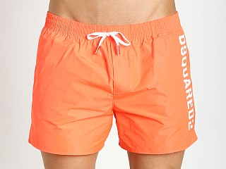 DSQUARED Swim Shorts Fluo Orange